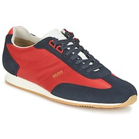 Schoenen Heren Lage sneakers Hugo Boss Orange ORLANDO LOW PROFILE Rood / Marine
