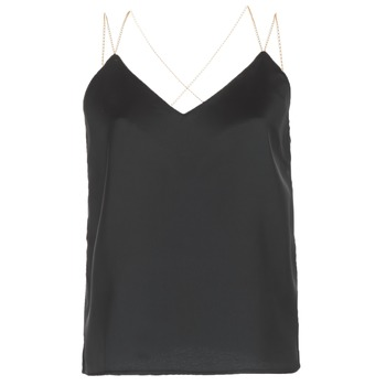 Textiel Dames Tops / Blousjes See U Soon 8111095 Zwart