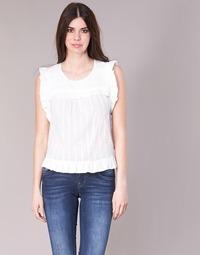 Textiel Dames Tops / Blousjes See U Soon 8111036 Wit