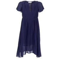 Textiel Dames Korte jurken See U Soon 8121119 Marine