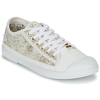 Schoenen Dames Lage sneakers Le Temps des Cerises BASIC 02 Goud