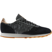 Schoenen Sneakers Reebok Classic Classic Leather Needlecraft Pack Zwart