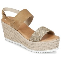 Schoenen Dames Sandalen / Open schoenen Casual Attitude INUIL Goud / Bruin