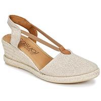 Schoenen Dames Sandalen / Open schoenen Casual Attitude IPOP Goud