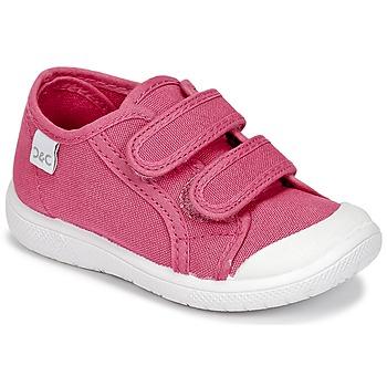 Schoenen Meisjes Lage sneakers Citrouille et Compagnie GLASSIA Roze