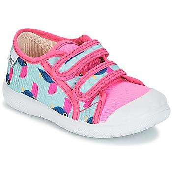Schoenen Meisjes Lage sneakers Citrouille et Compagnie GLASSIA Multi