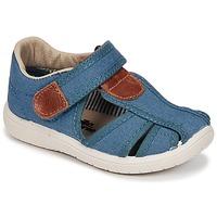 Schoenen Jongens Sandalen / Open schoenen Citrouille et Compagnie GUNCAL Blauw