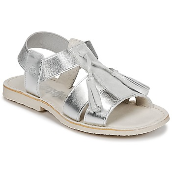 Schoenen Meisjes Sandalen / Open schoenen Citrouille et Compagnie INAPLATA Zilver
