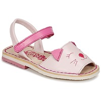 Schoenen Meisjes Sandalen / Open schoenen Citrouille et Compagnie ILOUDFI Roze