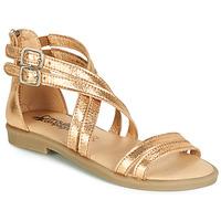 Schoenen Meisjes Sandalen / Open schoenen Citrouille et Compagnie IMOURAT Goud