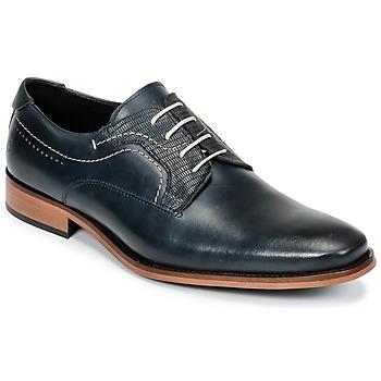 Schoenen Heren Derby Carlington COBO Blauw