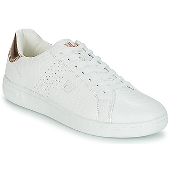 Schoenen Dames Lage sneakers Fila CROSSCOURT 2 F LOW WMN Wit / Roze / Goud