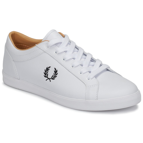 Schoenen Heren Lage sneakers Fred Perry BASELINE LEATHER Wit