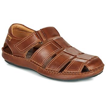 Schoenen Heren Sandalen / Open schoenen Pikolinos TARIFA 06J Bruin