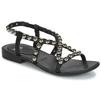 Schoenen Dames Sandalen / Open schoenen Now SANTIAGO Zwart