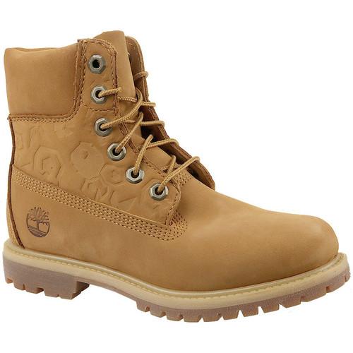 Schoenen Dames Enkellaarzen Timberland 6 In Premium Boot W A1K3N