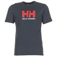 Textiel Heren T-shirts korte mouwen Helly Hansen HH LOGO Marine