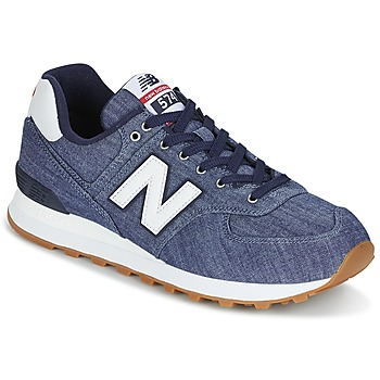 Schoenen Lage sneakers New Balance ML574 Indigo