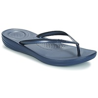 Schoenen Dames Teenslippers FitFlop IQUSHION ERGONOMIC FLIP-FLOPS Blauw