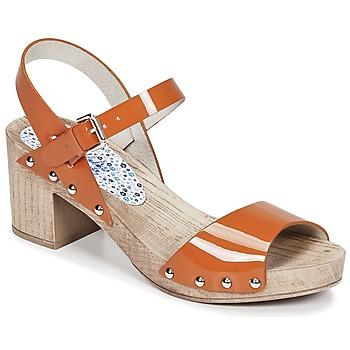Schoenen Dames Sandalen / Open schoenen Ippon Vintage SOK COLORS Oranje
