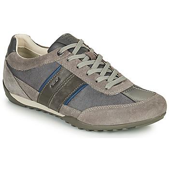 Schoenen Heren Lage sneakers Geox U WELLS C Grijs