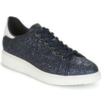 Schoenen Dames Lage sneakers Geox D THYMAR C Blauw / Wit