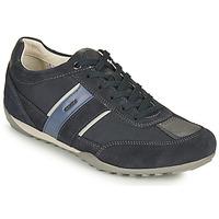 Schoenen Heren Lage sneakers Geox U WELLS C Blauw