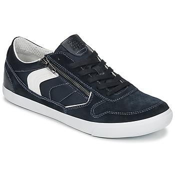 Schoenen Heren Lage sneakers Geox U BOX C Blauw