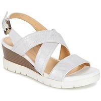 Schoenen Dames Sandalen / Open schoenen Geox MARYKARMEN P.B Wit