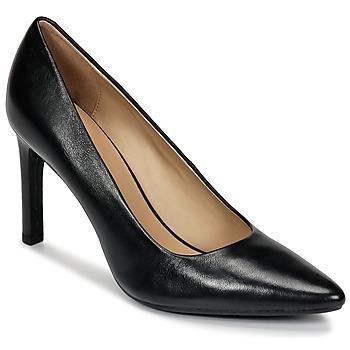 Schoenen Dames pumps Geox FAVIOLA C Zwart