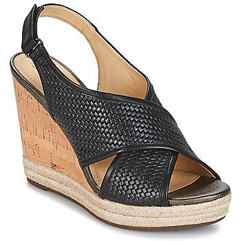 Schoenen Dames Sandalen / Open schoenen Geox JANIRA C Zwart