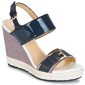 Schoenen Dames Sandalen / Open schoenen Geox JANIRA E Marine