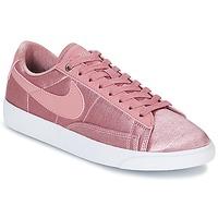 Schoenen Dames Lage sneakers Nike BLAZER LOW SE W Roze