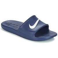 Schoenen Heren slippers Nike KAWA SHOWER SLIDE Blauw / Wit