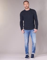 Textiel Heren Skinny jeans Sisley BURLUDU Blauw / Medium