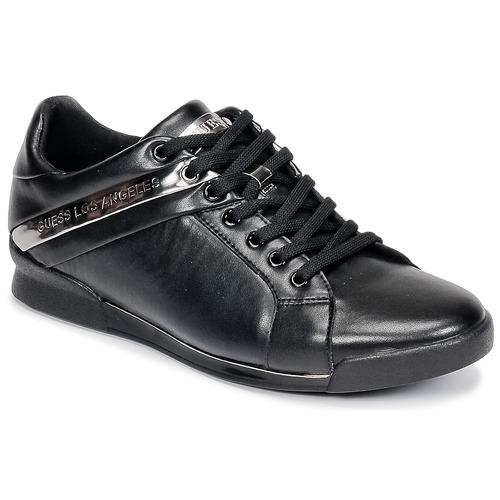 Schoenen Heren Lage sneakers Guess NEW GEORG Zwart