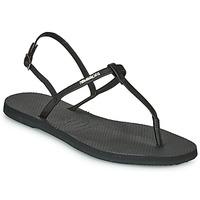 Schoenen Dames Sandalen / Open schoenen Havaianas YOU RIVIERA Zwart