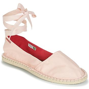 Schoenen Dames Espadrilles Havaianas ORIGINE SLIM Roze