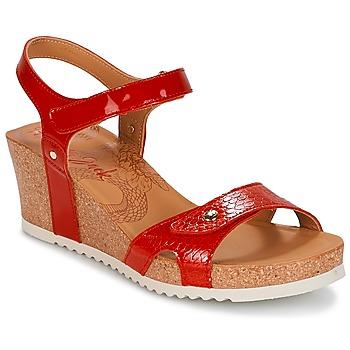 Schoenen Dames Sandalen / Open schoenen Panama Jack JULIA Rood