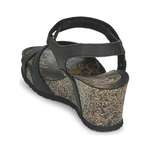 Panama Jack JULIA Zwart - Gratis levering  Schoenen Sandalen Dames