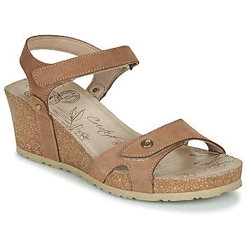 Schoenen Dames Sandalen / Open schoenen Panama Jack JULIA Bruin