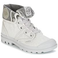 Schoenen Dames Laarzen Palladium US BAGGY Grijs / Metaal