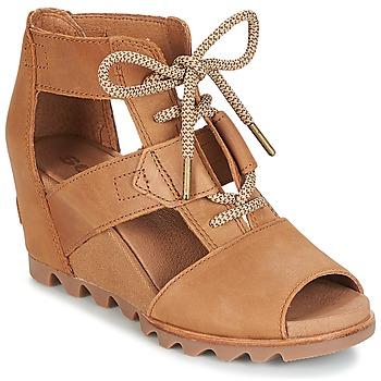 Schoenen Dames Sandalen / Open schoenen Sorel JOANIE™ LACE Bruin