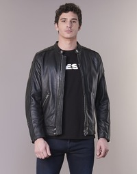 Textiel Heren Leren jas / kunstleren jas Diesel L SQUAD Zwart