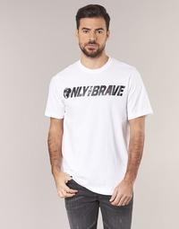 Textiel Heren T-shirts korte mouwen Diesel T JUST SV Wit