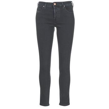 Textiel Dames Straight jeans Diesel BABHILA Zwart / 84nx
