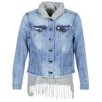 Textiel Dames Spijker jassen Maison Scotch XAOUDE Blauw / Clair / Grijs