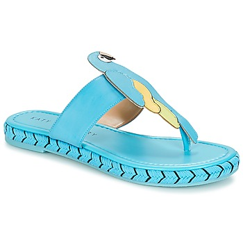 Schoenen Dames Teenslippers Katy Perry THE YASUNI Blauw