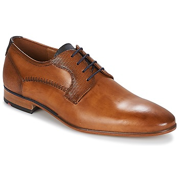 Schoenen Heren Derby Lloyd HEATH Cognac