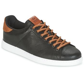 Schoenen Heren Lage sneakers Victoria DEPORTIVO PU CONTRASTE Zwart